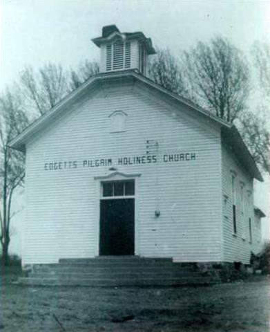 Original Church Building- on our current site- in the 1950's.